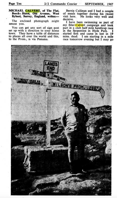 Michael Calvert letter - Courier September 1967.jpeg