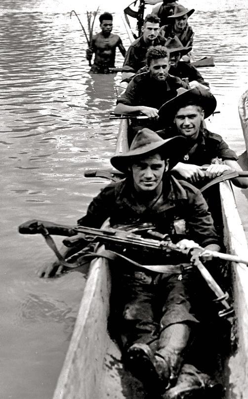 RAMU Valley, New Guinea, 1944.