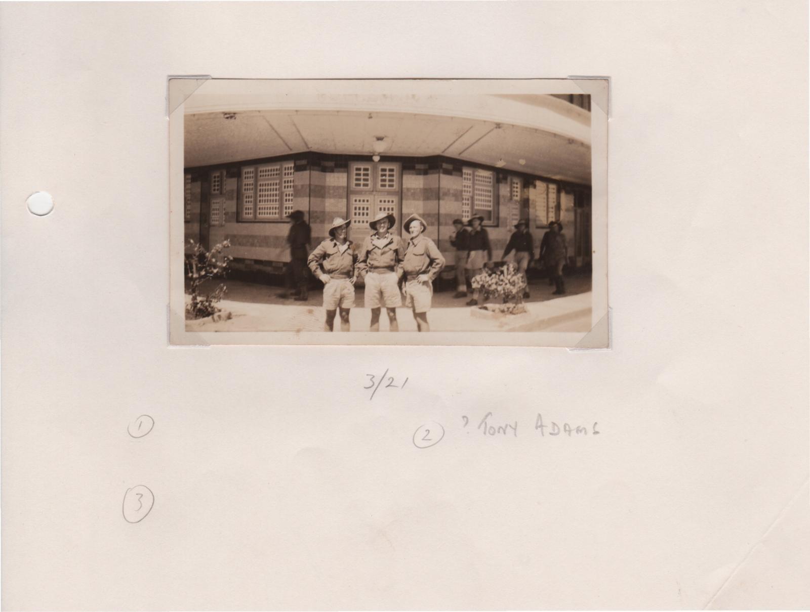 Dili scene Jan 1942 - Tony Adams middle.jpeg