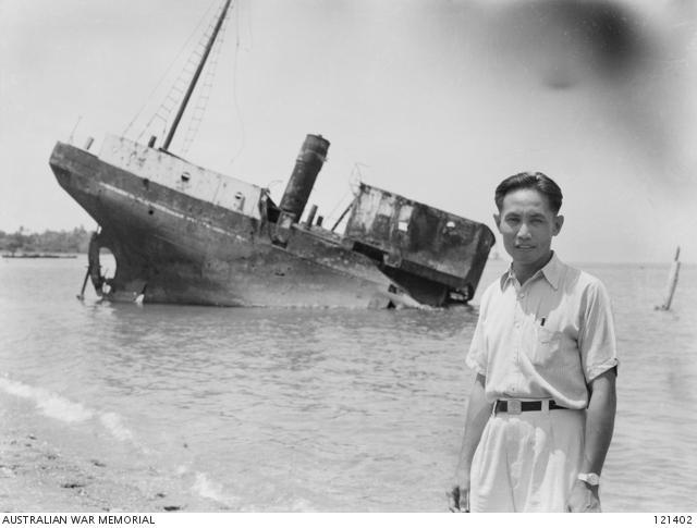 Wreckage of Japanese ship Nanyei Maru.jpg