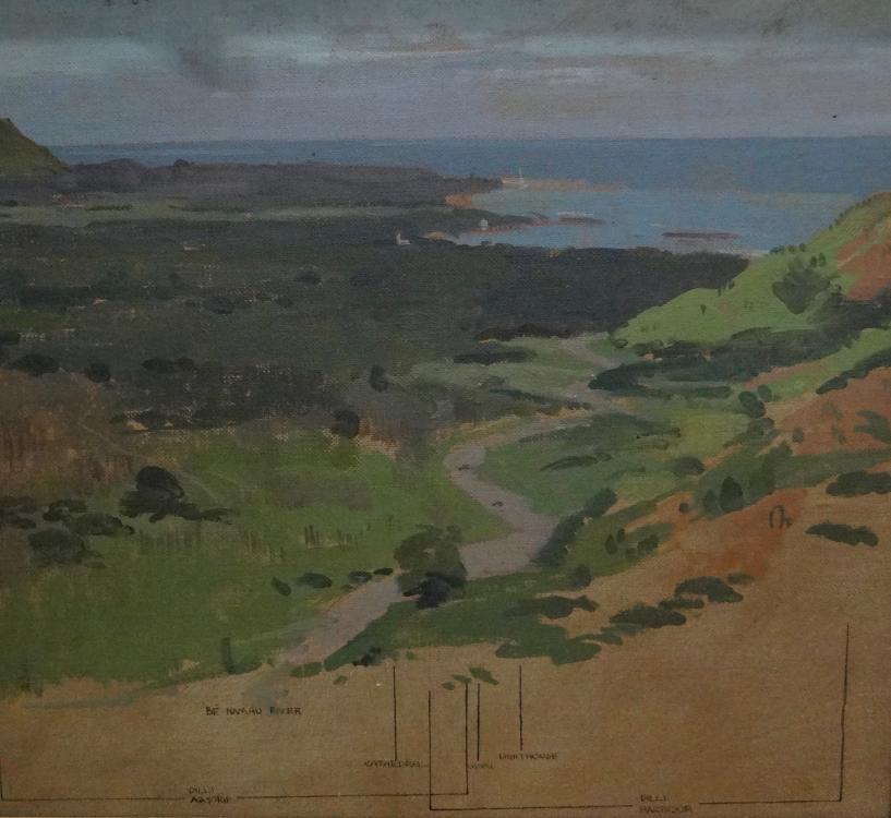 ART26319 – Charles Bush Panorama of the Dili area 1945.jpg