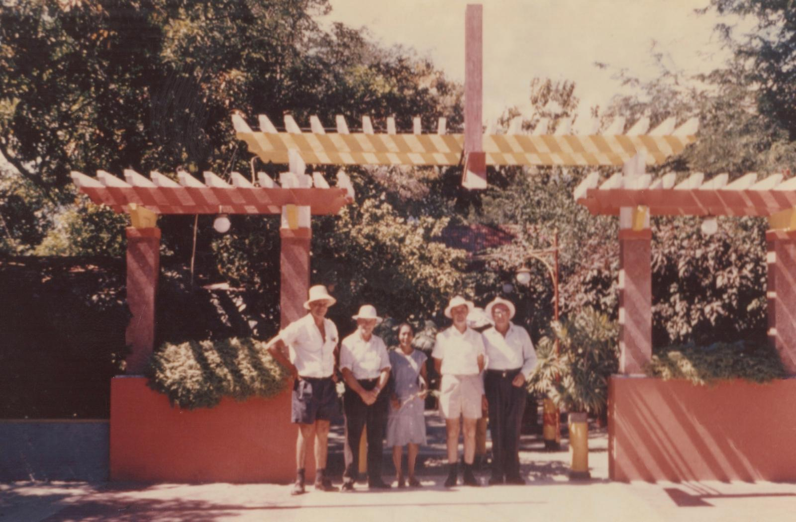 In front of Hotel Dili - Crouch, Sproxton, owner, Carey, ?.jpg
