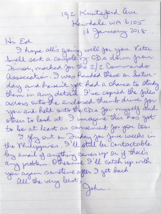 Letter from John Cramb re photos from PS.jpg