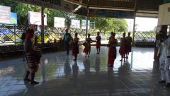 Dili - Arport - Welcome dancers.JPG