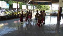 Dili - Arport - Welcome dancers 2.JPG