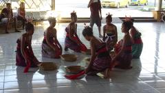 Dili - Arport - Welcome dancers 3.JPG