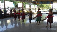 Dili - Arport - Welcome dancers 5.JPG